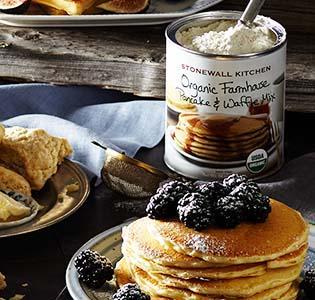 Pfannkuchen & Sirup
