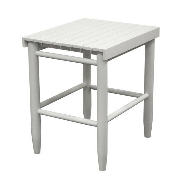 Side table white Beistelltisch von Troutman bei American Heritage