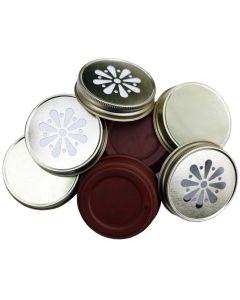 Dekorative Deckel für Ball Jars