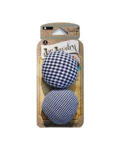 Ball Jar Mason Jar Nadelkissen blau