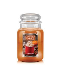 Country Candle Autumn Limited Edition Pumpkin Latte