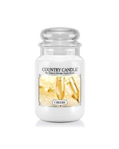 Country Candle Jar Cheers Large von Kringle Candle bei American Heritage