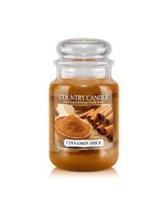 Country Candle Jar Cinnamon Spice Large von Kringle Candle bei American Heritage