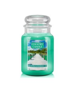 Country Candle Citrus & Seagrass Large Jar von Kringle Candle bei American Heritage