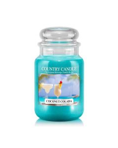 Country Candle Jar Coconut Colada Large von Kringle Candle bei American Heritage