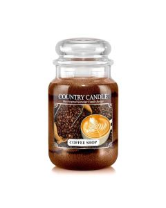 Country Candle Jar Coffee Shop Large von Kringle Candle bei American Heritage