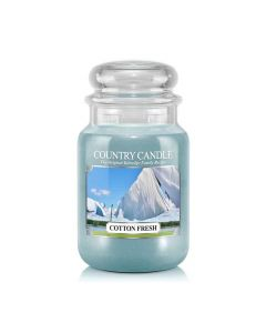 Country Candle Jar Cotton Fresh Large von Kringle Candle bei American Heritage