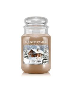 Country Candle Jar Cozy Cabin Large von Kringle Candle bei American Heritage