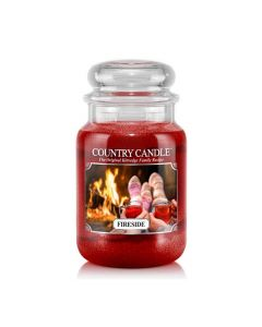 Country Candle Jar Fireside Large von Kringle Candle bei American Heritage