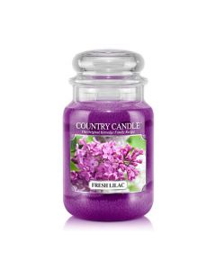 Country Candle Jar Fresh Lilac Large von Kringle Candle bei American Heritage