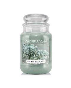 Country Candle Jar Frosty Branches Large von Kringle Candle bei American Heritage