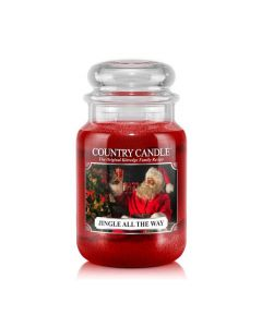Country Candle Jar Jingle All The Way Large von Kringle Candle bei American Heritage