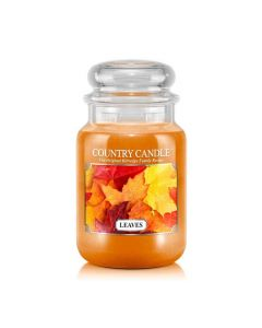 Country Candle Jar Leaves Large von Kringle Candle bei American Heritage
