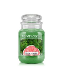 Country Candle Jar Pine & Pomelo Large von Kringle Candle bei American Heritage