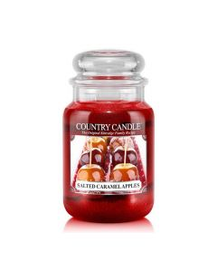 Country Candle Jar Salted Caramel Apples Large von Kringle Candle bei American Heritage