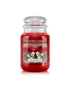 Country Candle Jar Silver Bells Large von Kringle Candle bei American Heritage