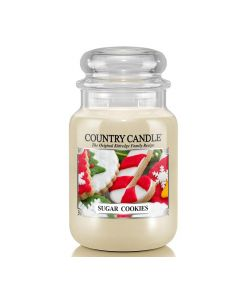 Country Candle Jar Sugar Cookies Large von Kringle Candle bei American Heritage