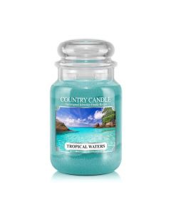 Country Candle Jar Tropical Waters Large von Kringle Candle bei American Heritage