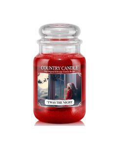 Country Candle Jar Twas the Night Large von Kringle Candle bei American Heritage