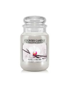 Country Candle Jar Vanilla Orchid Large von Kringle Candle bei American Heritage