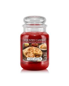 Country Candle Jar Warm Apple Pie Large von Kringle Candle bei American Heritage