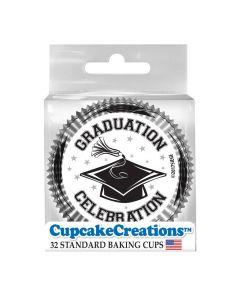 Cupcake Backförmchen Graduation von Cupcake Creations