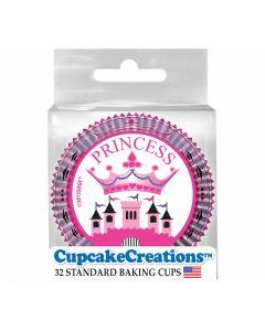 Cupcakebackförmchen Princess von Cupcake Creations bei American Heritage