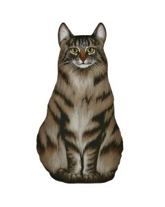 Fiddlers Elbow Door Stop Maine Coon Cat American Heritage