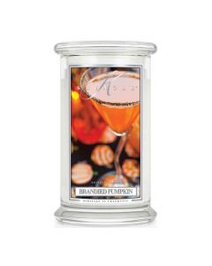 Kringle Candle Brandied Pumpkin Classic Jar large American Heritage