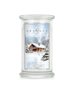 Large Jar Cozy Cabin von Kringle Candle bei American Heritage