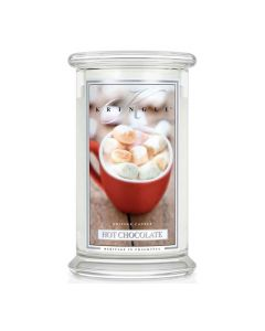 Kringle Candle Hot Chocolate Classic Jar large American Heritage