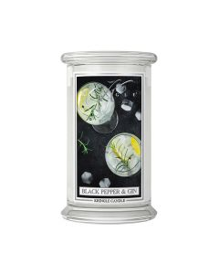 Black Pepper & Gin Duftkerze von Kringle Candle - Winter 2020