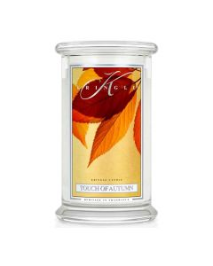 Kringle Candle Touch of Autumn Classic Jar large American Heritage