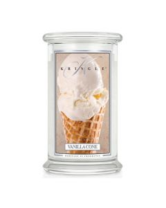 Kringle Candle Vanilla Cone Classic Jar large American Heritage