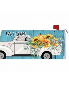 US Mailbox Cover Herbstlicher Truck von American Heritage