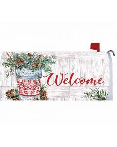 Winter Woodland Mailbox Cover von American Heritage