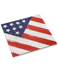 Outset American Flag Burger Papier American Heritage