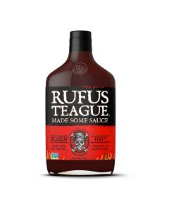 Rufus Teague Blazin' Hot BBQ Sauce von American Heritage