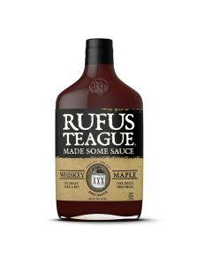 Rufus Teague Whiskey Maple BBQ Sauce bei American Heritage