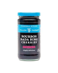 Stonewall Kitchen Bourbon Bada Bing Cherries von Tillen Farms bei American Heritage