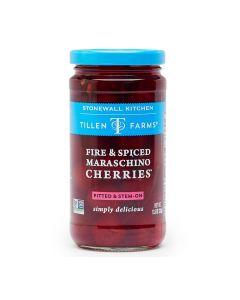 Stonewall Kitchen Fire & Spiced Maraschino Cherries von Tillen Farms erhältlich bei American Heritage