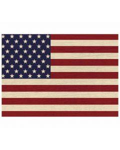 Vintage American Flag Placemat Amerikanische Flagge Tischset von American Heritage