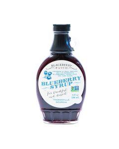 Blueberry Syrup von Blackberry Patch in der Glasflasche (236 ml) - Blaubeersirup