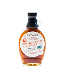 Pumpkin Spice Syrup von Blackberry Patch in der Glasflasche (236 ml) - Kürbissirup