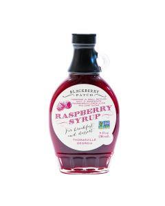 Raspberry Syrup von Blackberry Patch in der Glasflasche (236 ml) - Himbeersirup