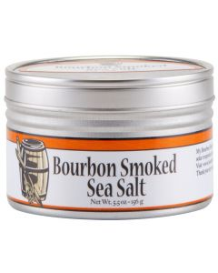 Bourbon Smoked Sea Salt, Meersalz, Rauchsalz