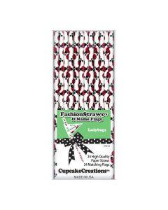 Strohhalme Ladybugs von Cupcake Creations