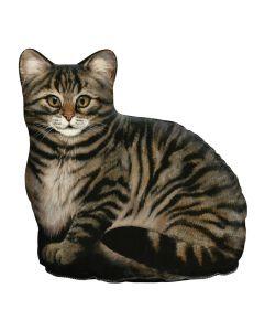 Braune Katze Türstopper