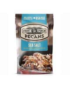Pekannüsse mit Meersalz (Sea Salt) von Front Porch Pecans im 113 g-Beutel