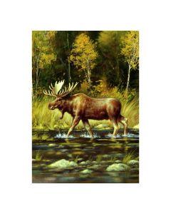 Wading Moose Fahne
